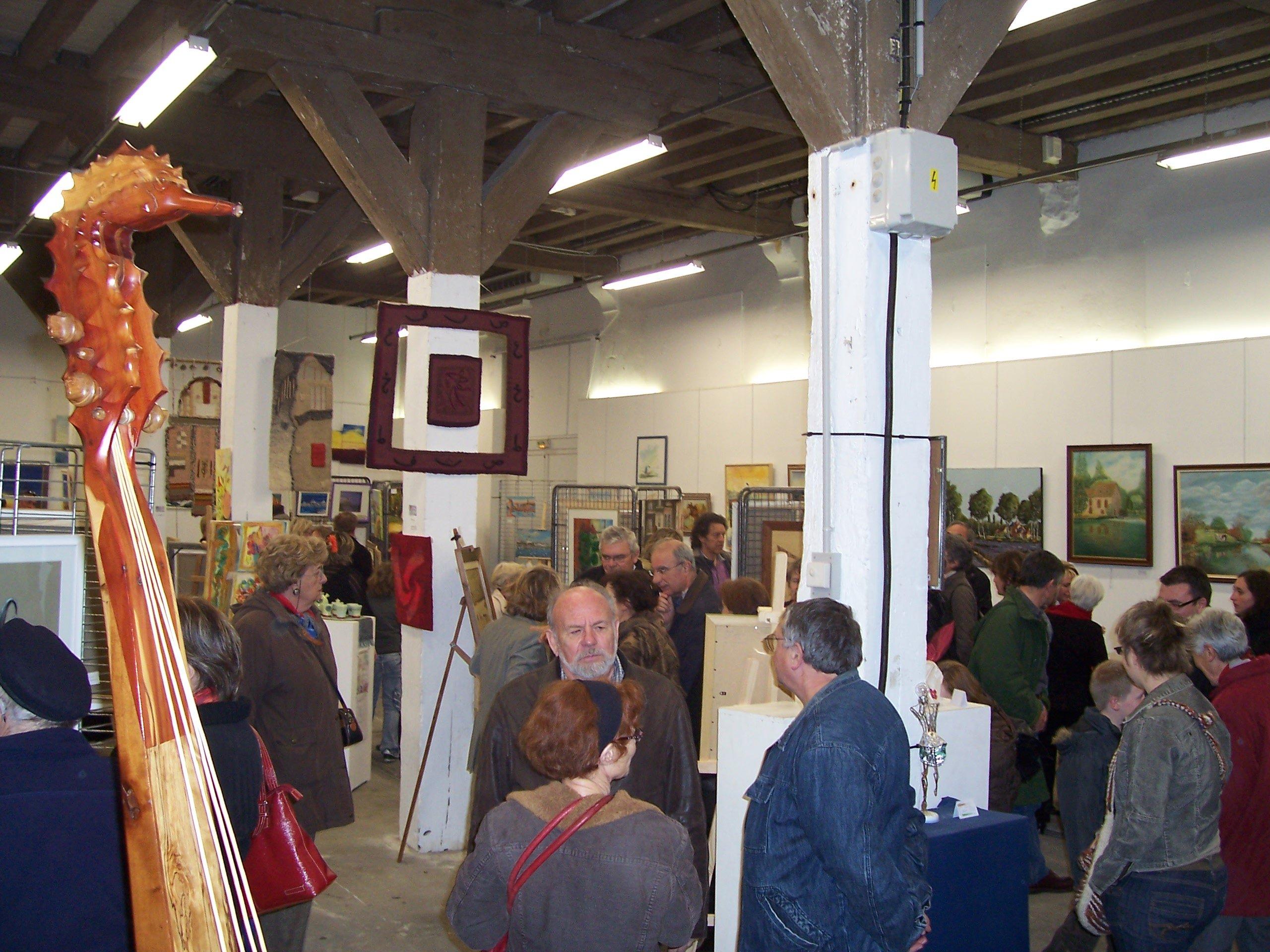 vernissage à l'Arsenal - Salon de LA ROCHELLE 2007