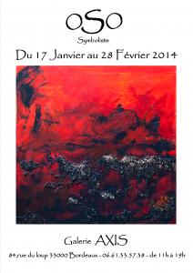 Affiche Axis pour le 17-01-2014